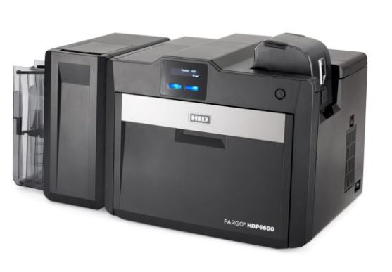 Fargo HDP6600 Retransfer Plastic Card Printer (dual-sided)