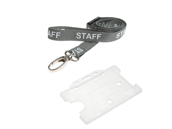 Printed Lanyard & Holder