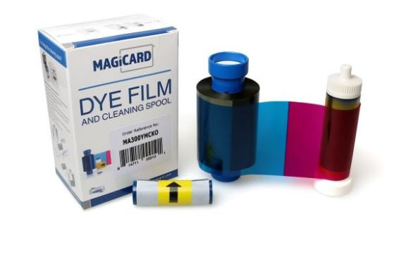 Magicard MA300YMCKO Colour Ribbon (300 Prints)