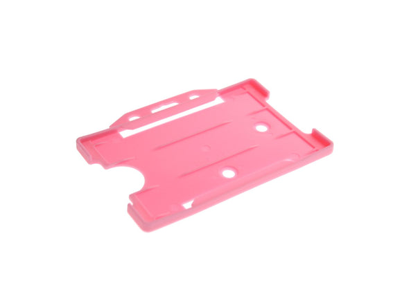 Pink Single Sided Biodegradable ID Card Holder