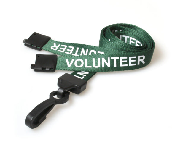 Volunteer Neck Strap Lanyard