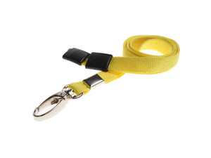 Yellow Lanyard with Lobster Clip