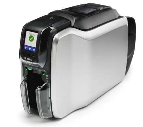 Zebra ZC300 Plastic Card Printer with Ethernet (single-sided)