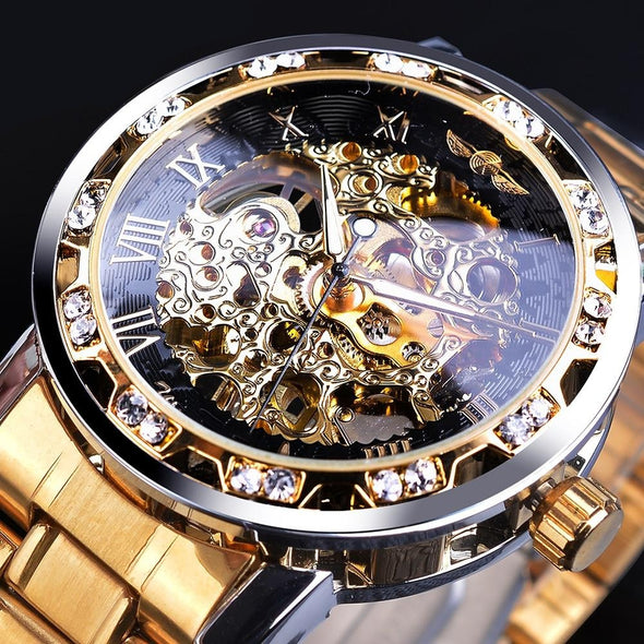 Jollynova - Luxury Men's Automatic Mechanical Watch