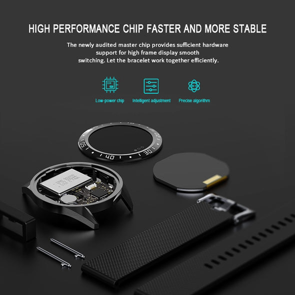 LIGE - IP68 Heart Rate Monitor Fitness Smart Watch