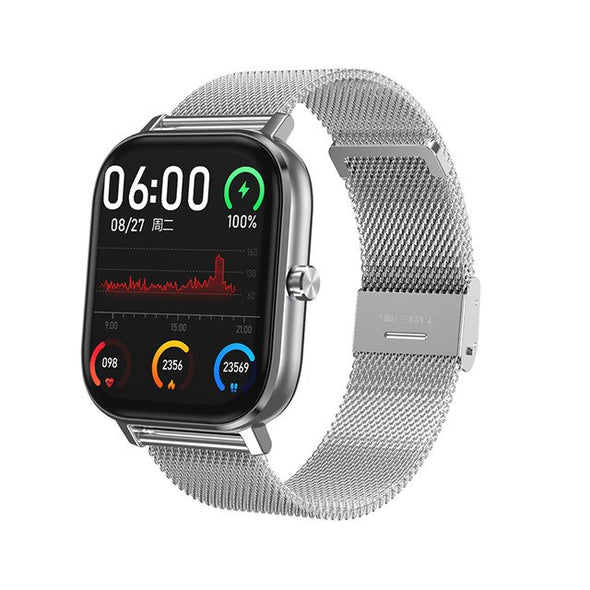 Jollynova - IP67 Waterproof Full Touch Smart Watch Bluetooth Call  Fitness Tracker Blood Pressure