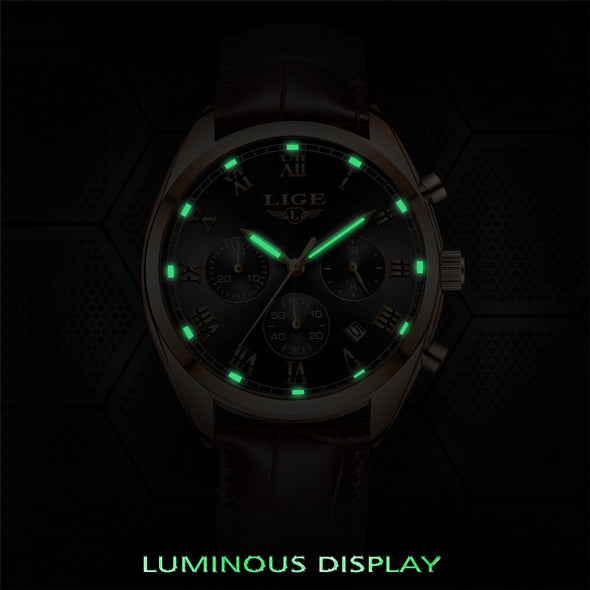 LG9582L - Waterproof 24 Hour Date Sport Quartz Watch