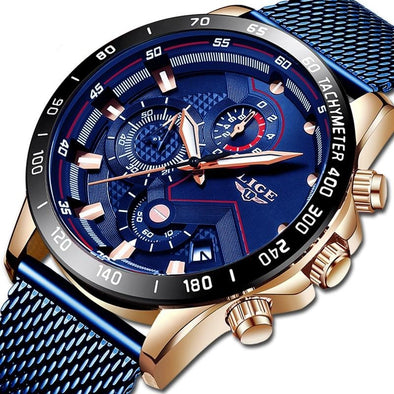 LG9929 - Waterproof Sports Chronograph Quartz Watch