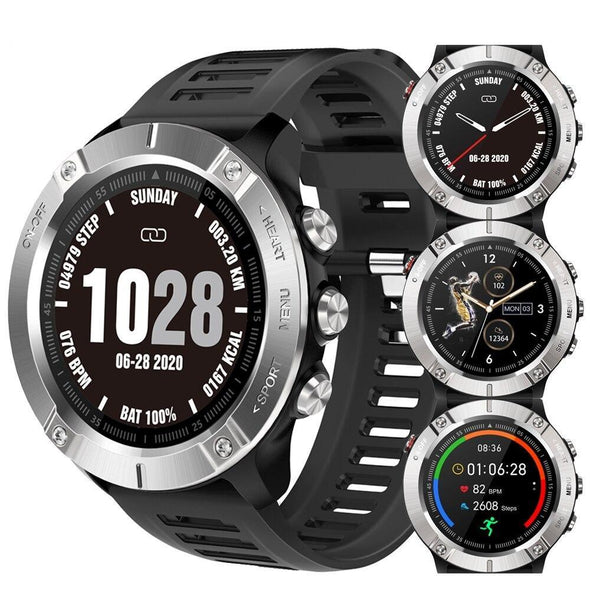 Jollynova - S7 IP68 Waterproof Multiple Sports Mode Fitness Tracker Smartwatch