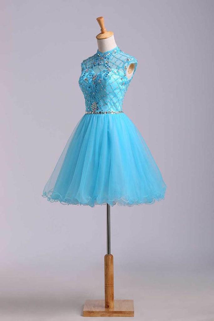 2019 Homecoming Dresses Color Blue Size 0 2 4 6 Ship Today