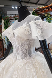 Gorgeous Ball Gown Big Wedding Dresses Princess Bridal Dress With SSAPRBJ5CLK