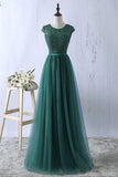 Sexy Green Prom Dress Tulle Prom Dresses Long Evening Dress Green Formal Dress Prom Dressses
