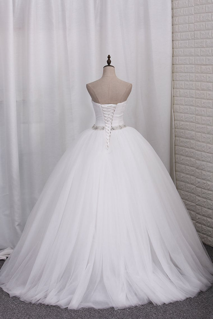 Ruched Embroidered Sweetheart Gown Ivory White Regular Plus New Size 2-26 W