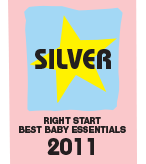 Right Start 2010 Best Baby Toy SILVER