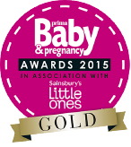 Prima Baby & Pregnancy Award 2015 Nursery accessory GOLD