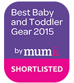 by mumIi 2015 Best Baby and Toddler Gear SHORTLISTED