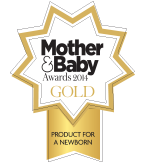 Mother & Baby Award 2014 Product for a newborn GOLD