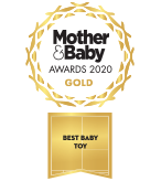 Mother and Baby Award 2020 Best Baby Toy GOLD