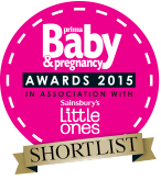 Prima Baby & Pregnancy Award 2015 Mum's can't live without SHORTLIST