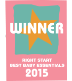 Right Start 2015 Best Baby Essentials WINNER