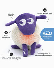 Load image into Gallery viewer, ewan Deluxe | Baby Shushing Sleep Sheep | purple