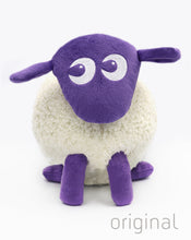 Load image into Gallery viewer, ewan purple bundle with baa baa blankie