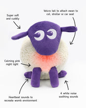 Load image into Gallery viewer, ewan the dream sheep | Baby Sleep Soother | purple