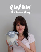 Load and play video in Gallery viewer, ewan the dream sheep | Baby Sleep Soother | grey