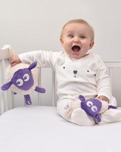 ewan deluxe purple bundle with snuggly