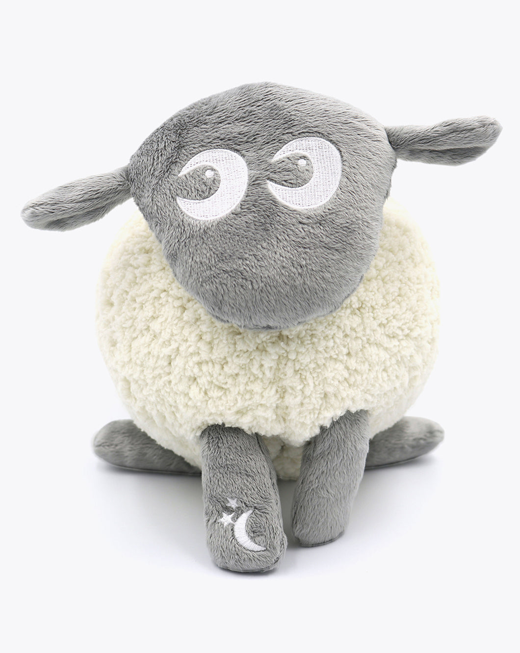 ewan Deluxe | baby shushing sleep sheep | grey