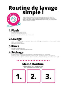 Routine de lavage Simple !