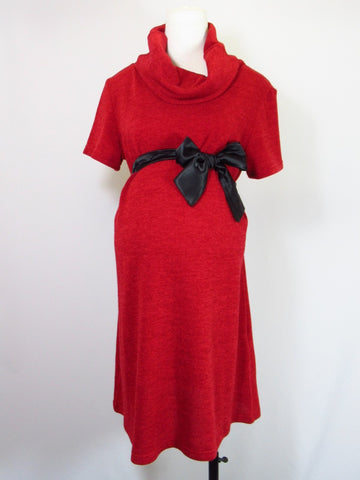 Robe de Maternité Rouge