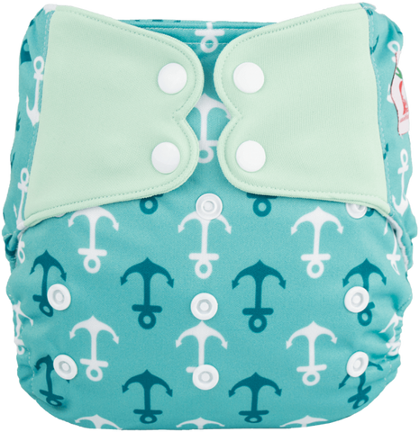 Couvre-Couche ELF - Ancre Turquoise