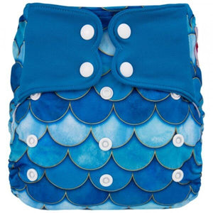 ELF Diaper - Couche à poche - Blue Mermaid