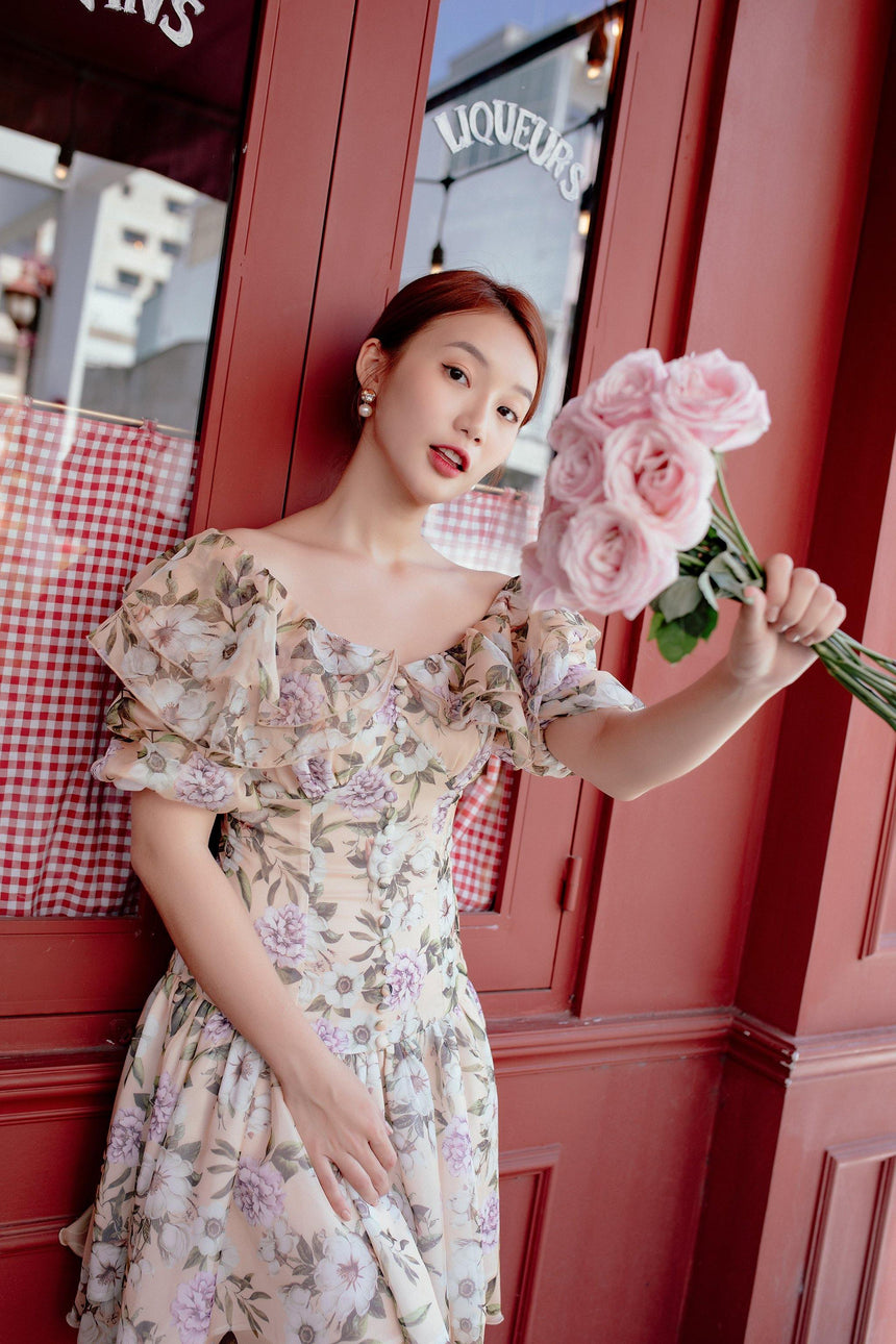 Limited Floral Dress - MADELYN - Babe n Bear