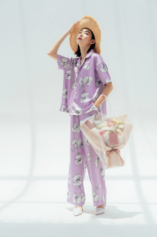SUMMER TIME PYJAMA PANTS - LOVE VERSION - RENBYTEE 56