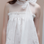 LACY DRESS WITH BOW ON NECK - RENBYTEE