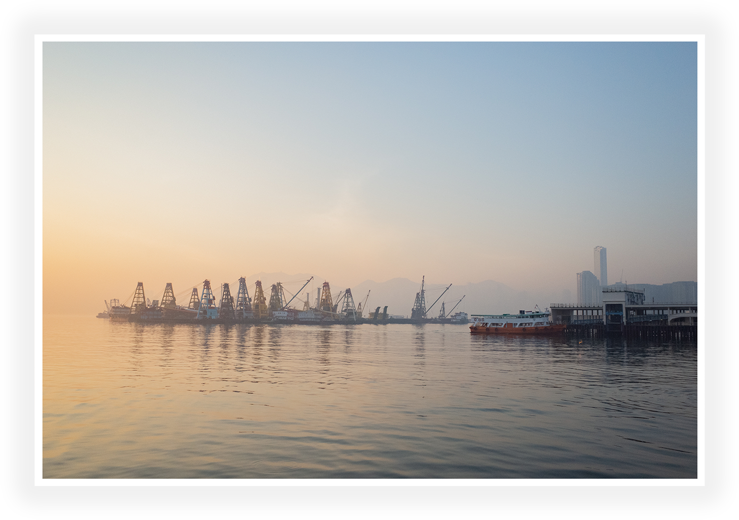 Hong Kong - Early morning by the harbour