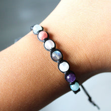 Load image into Gallery viewer, Aquarius Crystal Bracelet