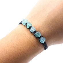 Load image into Gallery viewer, Raw Blue Apatite Bracelet