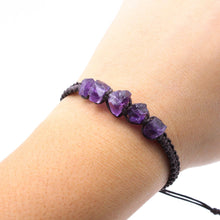 Load image into Gallery viewer, Raw Amethyst Bracelet