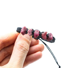 Load image into Gallery viewer, Raw Pink Tourmaline Bracelet