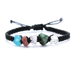Taurus Raw Gemstone Bracelet