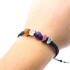 Scorpio Raw Gemstone Bracelet