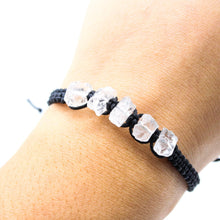 Load image into Gallery viewer, Raw Clear Quartz Bracelet