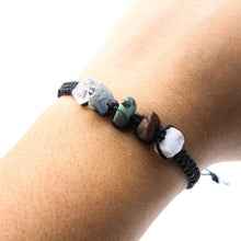 Load image into Gallery viewer, Cancer Zodiac Raw Gemstone Bracelet