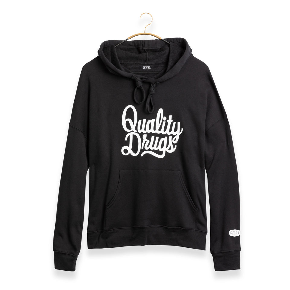 QUALITY DRUGS PULLOVER HOODY