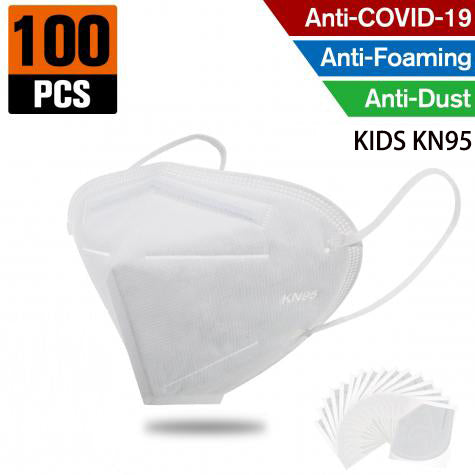 KN95 FFP2 Kids Mask– 4 Layer Respirator (100pcs)
