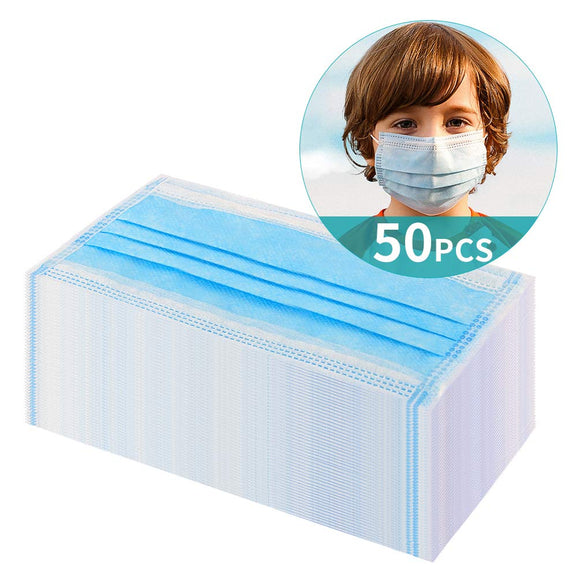 Children's Disposable Masks - 3 Layer Respirator(50pcs)