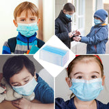 Children's Disposable Masks - 3 Layer Respirator(100pcs)